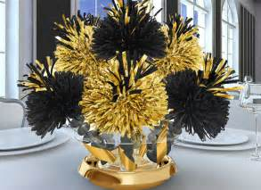 black and gold centerpieces wanderfuls barmitzvah and batmitzvah centerpieces