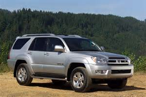2004 Toyota 4runner Recalls 2003 09 Toyota 4runner Consumer Guide Auto