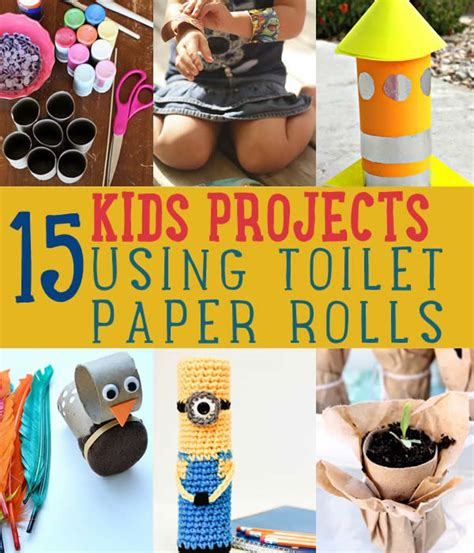 Craft Using Toilet Paper Rolls - 15 toilet paper roll crafts for diyready easy