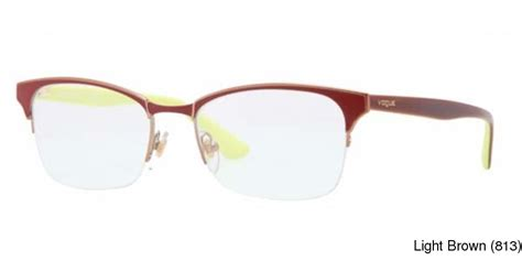 my rx glasses resource vogue vo3825 semi rimless
