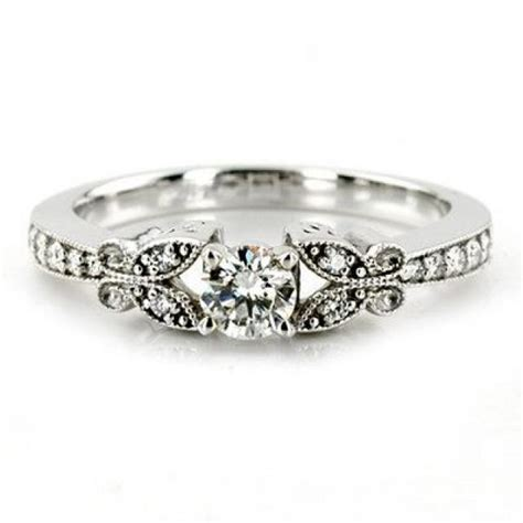 1 00ct vintage engagement ring antique style
