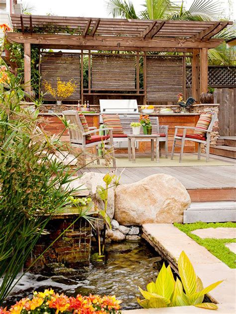 Dream Decks by Wonderful Dream Deck With Small Pond Garden