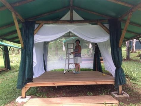 building a tent platform tent platform with bamboo structure by harvey38