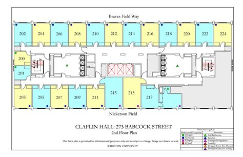 bc floor plans claflin 187 housing boston