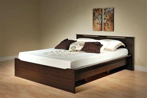 simple wooden bed amazing angelspeace  pertaining