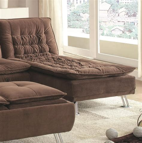 emily futon with chaise lounger multiple colors emily futon chaise lounger roselawnlutheran