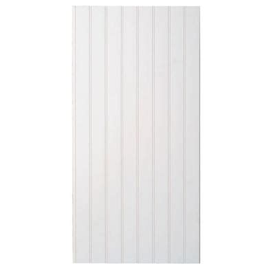 Wainscoting Panels Home Depot Marlite Supreme Wainscot 8 Linear Ft Hdf Tongue And