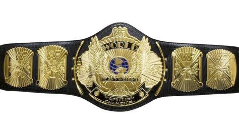 wwe world title belt graded page