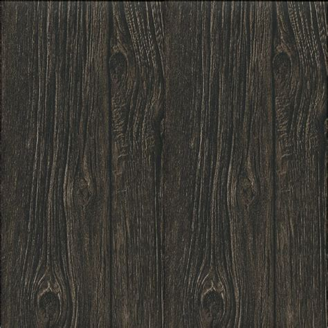 black wood paneling muriva bluff wood panel faux effect wallpaper brown j02418