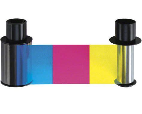 Fargo Color Ribbon Ymcko Cartridges 250 Images Prints Pn 45000 fargo dtc400 ymcko ribbon cartridge 250 prints digitalid