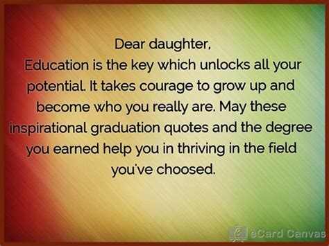 songs for graduation for daughter dear daughter education is the key which unlocks all your