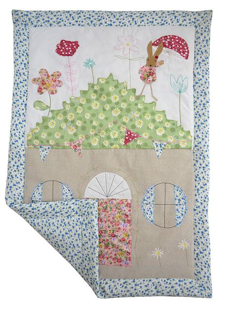 Patchwork Cot Quilts - rabbit patchwork cot quilt by marquis dawe