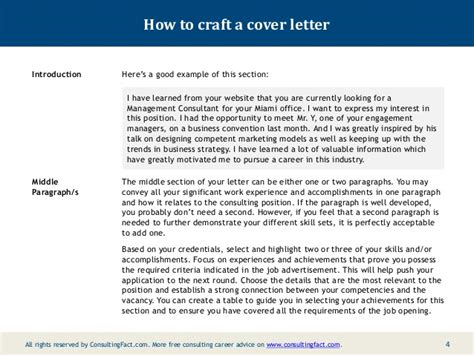 cover letter boston consulting sle cover letter sle cover letter boston consulting