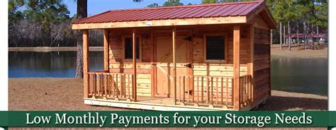 Sheds For Rent To Own by Rent To Own Storage Buildings Swainsboro Ga