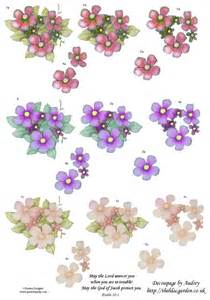 Free 3d Decoupage Sheets To Print - free decoupage sheets 3d floral decoupage