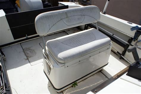 boat bench seat for sale 1987 used seacraft 23 master angler center console fishing