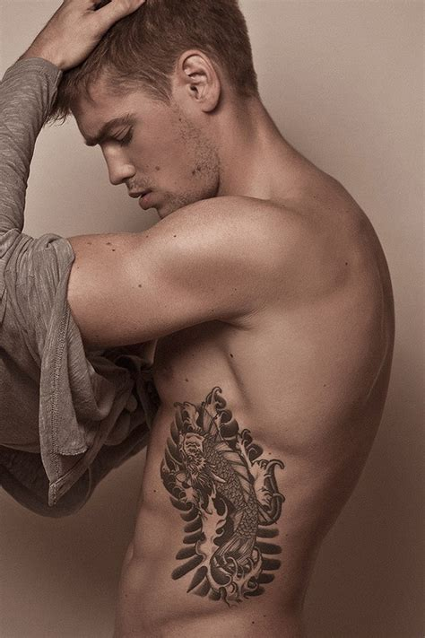 tattoo on ribs male on rib cage tattoos for men