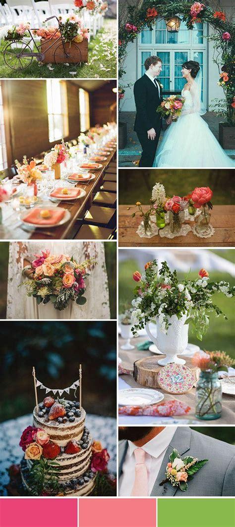 wedding theme 5 spring wedding color palette ideas