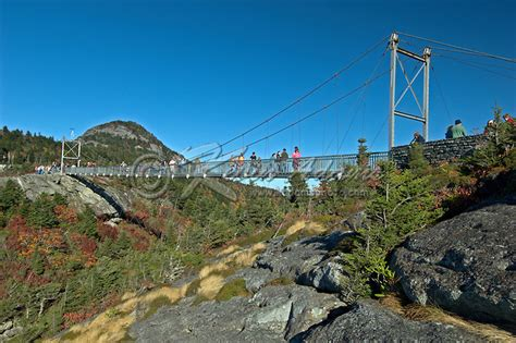 blue ridge swinging bridge mile high swinging bridge grandfather mountain blue ridge