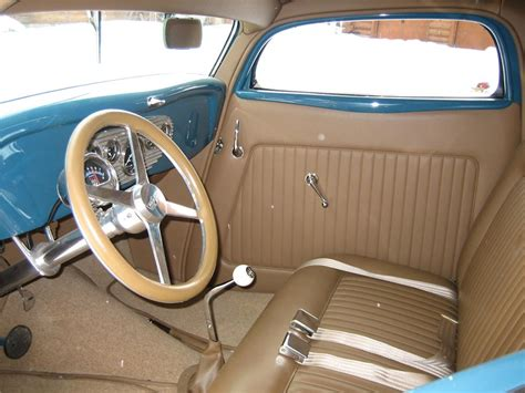 Ford Upholstery by 1934 Ford Salt Flat Racer 45926