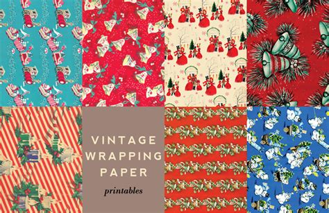 free printable vintage wrapping paper printable vintage wrapping accents aunt peaches