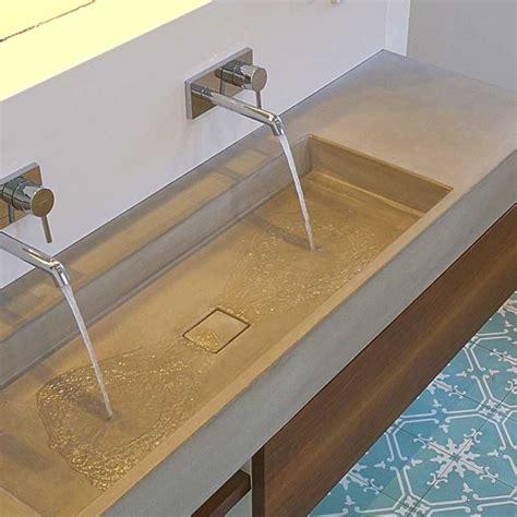 waschtisch aus beton waschtisch victum 95 und 124 waschtische aus beton
