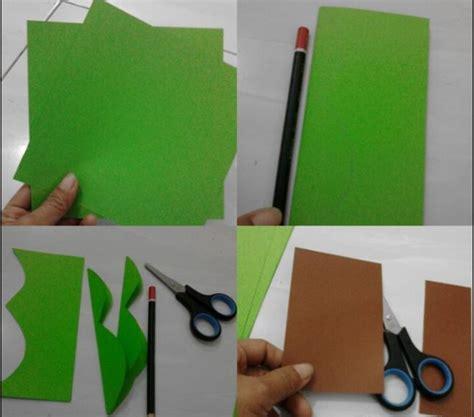 Kertas Origami 1 Pack Kaktus Berbahan Origami Dekorasi Kelas Yang Sangat Bagus