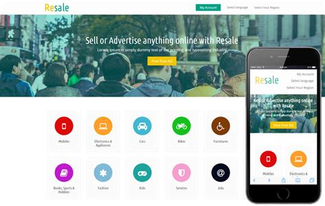 online tutorial website templates resale a e commerce business responsive web template