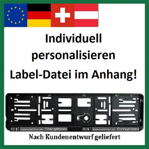 Aufkleber Selbst Gestalten österreich by Wechselkennzeichen Und Aufkleber Info Label Shop