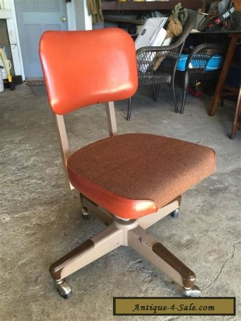 vintage delwood furniture metal chair mid century 50 s 60