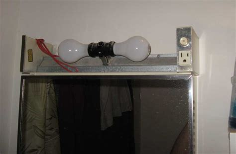 Bathroom Vanity Light With Power Outlet by Bathroom Lighting With Electrical Outlet Simple Home