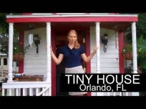 Tumbleweed Tiny House For Sale Woman Lives In Tiny House In Orlando Fl Rv Parked And