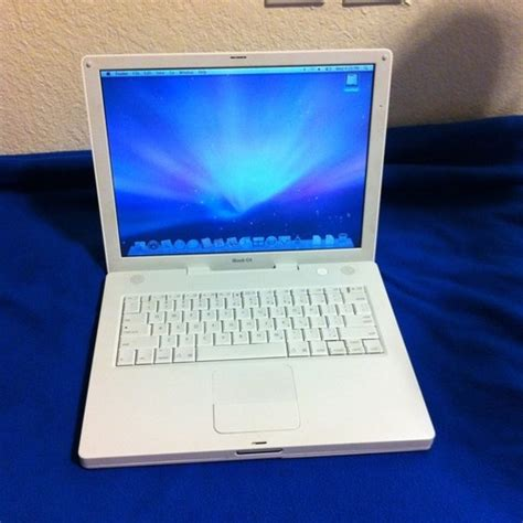 Laptop Apple Ibook G4 apple ibook g4 14 quot laptop powerpc g4 1 42 ghz 768 mb ram