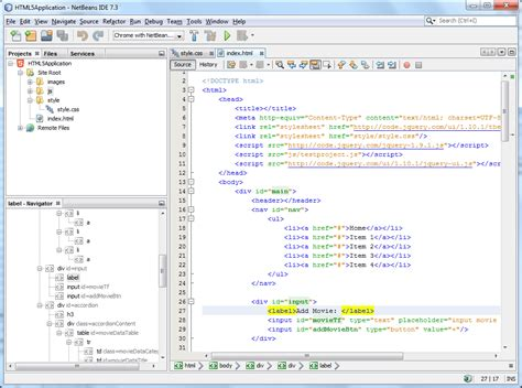 Design Html Page In Netbeans | ide comparison for html 5 css 3 and javascript