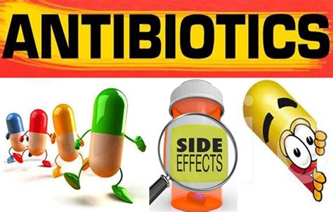 antibiotics side effects the side effects of antibiotics are far reaching