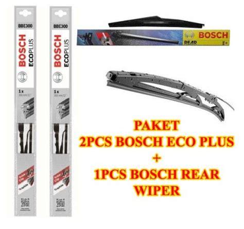 Wiper Bosch Aerotwin Xenia 3pcs Kn Kr Dan Belakang jual harga wiper bosch eco plus jazz ge 3pcs kn kr dan