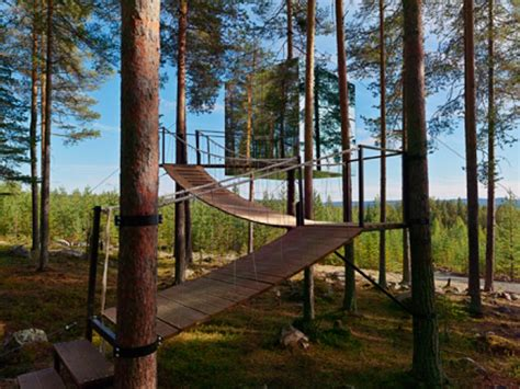 the treehotel in sweden for nature lovers 171 twistedsifter update amazing treehotel opens in sweden treehotel cabin