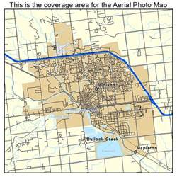 aerial photography map of midland mi michigan