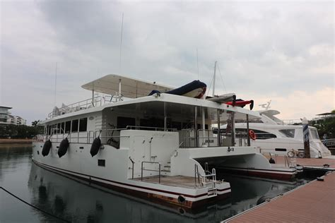 catamarans for sale south pacific prout 77 power catamaran