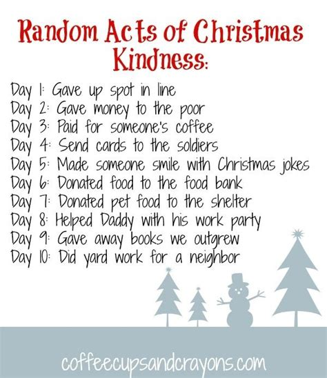27 best images about rack random acts of christmas