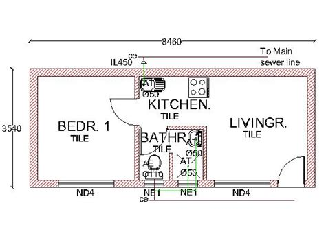 design brief of a bachelor flat plan of the month february