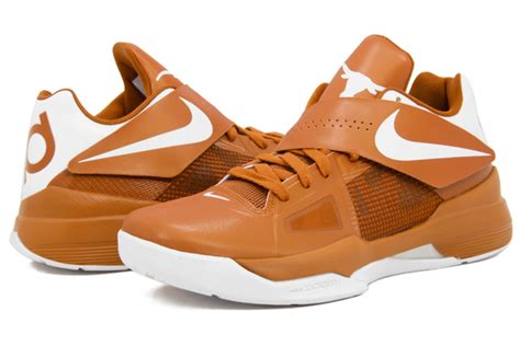 longhorns basketball shoes nike zoom kd iv quot longhorns quot coming soon