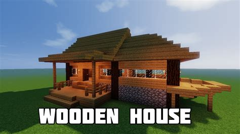 house building minecraft minecraft build tutorial how to build a starter house best starter house starter