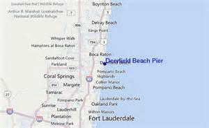 Deerfield Beach Florida Map by Deerfield Beach Pier Surf Forecast And Surf Reports