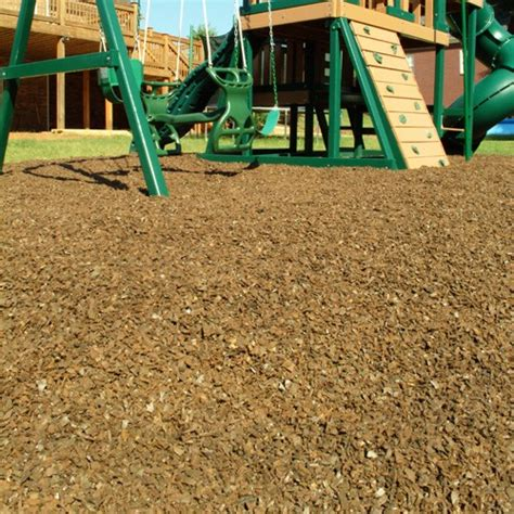 Rubber Mulch For Playground Calculator by Playground Recycled Rubber Mulch Cypress