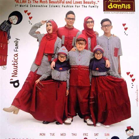 Baju Muslim Dannis Keluarga 13 koleksi baju muslim dannis trend terbaru gambar busana muslim 2018