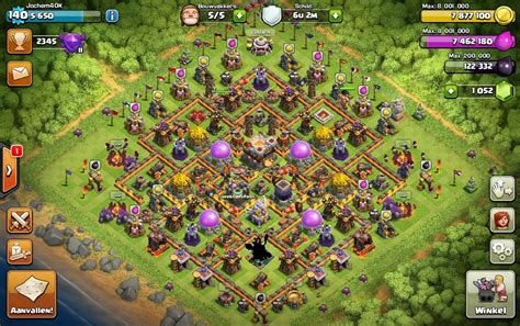 th11 clash of clans best base layouts th11 farming 1 elite hispania quot clan top de clash