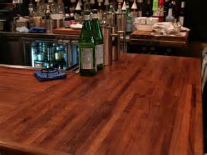 Bar On Top by Custom Wood Countertop Options Joints For Multi Section Tops