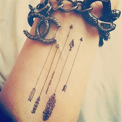 cute arrow tattoos designs for images of idea