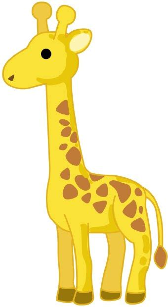 imagenes de jirafas animados cute giraffe cartoon clipart best